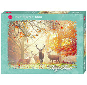 Heye Heye Magic Forests, Stags Puzzle 1000pcs