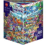 Heye Heye Magic Sea Puzzle 1000pcs
