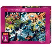 Heye Heye Movie Masters, Tim Burton Films Puzzle 1000pcs