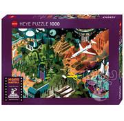 Heye Heye Movie Masters, Steven Spielberg Films Puzzle 1000pcs