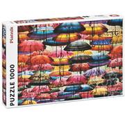 Piatnik Piatnik Colourful Umbrellas Puzzle 1000pcs