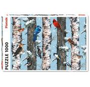 Piatnik Piatnik Christmas Birds Puzzle 1000pcs