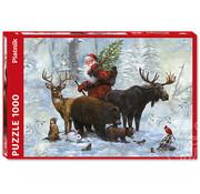 Piatnik Piatnik Santa's Team Puzzle 1000pcs