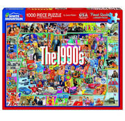 White Mountain White Mountain The Nineties Puzzle 1000pcs