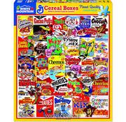 White Mountain White Mountain Cereal Boxes Puzzle 1000pcs