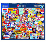 White Mountain White Mountain Pepsi Puzzle 550pcs