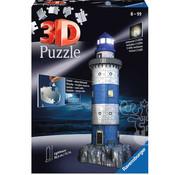 Ravensburger Ravensburger 3D Lighthouse Night Edition Puzzle 216pcs
