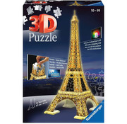 Ravensburger Ravensburger 3D Eiffel Tower Night Edition Puzzle 216pcs