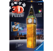 Ravensburger Ravensburger 3D Big Ben Night Edition Puzzle 216pcs