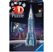 Ravensburger Ravensburger 3D Chrysler Building Night Edition Puzzle 216pcs