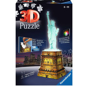 Ravensburger Ravensburger 3D Statue of Liberty Night Edition Puzzle 108pcs