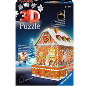 Ravensburger Ravensburger 3D Gingerbread House Night Edition Puzzle