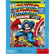 Aquarius Aquarius Marvel - Captain America Cover Puzzle 500pcs