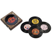 Aquarius Woodstock Coasters