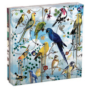 Galison Galison Birds Sinfonia Double Sided Puzzle 250pcs
