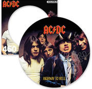 Aquarius Aquarius AC/DC Highway to Hell Round Picture Disc Puzzle 450pcs