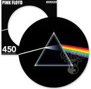 Aquarius Aquarius Pink Floyd The Dark Side of the Moon Round Picture Disc Puzzle 450pcs