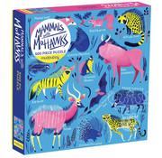 Mudpuppy Mudpuppy Mammals with Mohawks Puzzle 500pcs