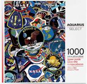 Aquarius Aquarius NASA Mission Patches Puzzle 1000pcs