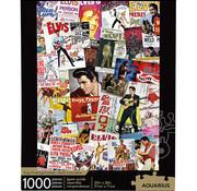 Aquarius Aquarius Elvis - Movie Poster Collage Puzzle 1000pcs