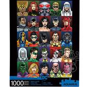 Aquarius Aquarius DC Faces Puzzle 1000pcs