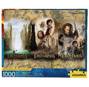 Aquarius Aquarius Lord of the Rings - Triptych Puzzle 1000pcs