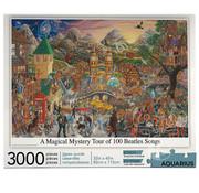 Aquarius Aquarius A Magical Mystery Tour of 100 Beatles Songs Puzzle 3000pcs