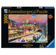 Ravensburger Ravensburger Ottawa Winterlude Puzzle 1000pcs