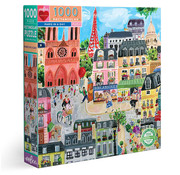 eeBoo eeBoo Paris in a Day Puzzle 1000pcs