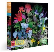 eeBoo eeBoo Summer Garden Sampler  Puzzle 1000pcs