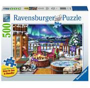 Ravensburger Ravensburger Northern Lights Large Format Puzzle 500pcs
