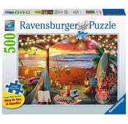 Ravensburger Ravensburger Cozy Cabana Large Format Puzzle 500pcs