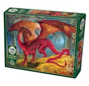 Cobble Hill Puzzles Cobble Hill Red Dragon's Treasure Puzzle 1000pcs