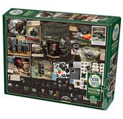 Cobble Hill Puzzles Cobble Hill History of Photography Puzzle 1000pcs