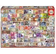 Educa Borras Educa World Banknotes Puzzle 1000pcs