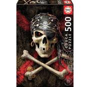Educa Borras Educa Pirate Skull Puzzle 500pcs