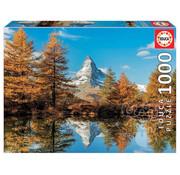 Educa Borras Educa Matterhorn Mountain in Autumn Puzzle 1000pcs