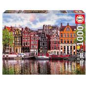 Educa Borras Educa Dancing Houses, Amsterdam Puzzle 1000pcs