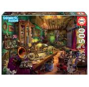 Educa Borras Educa Antic Attic 'Enigmatic' Puzzle 500pcs