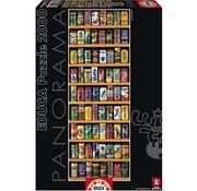 Educa Borras Educa Soft Cans Panorama Puzzle 2000pcs