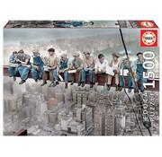 Educa Borras Educa Breakfast in New York Puzzle 1500pcs