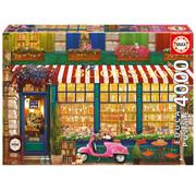 Educa Borras Educa Vintage Bookshop Puzzle 4000pcs