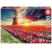 Educa Borras Educa Tulips Landscape Puzzle 1500pcs