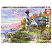 Educa Borras Educa Lighthouse at Rock Bay Puzzle 4000pcs