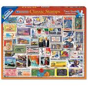 White Mountain White Mountain Classic Stamps Puzzle 550pcs