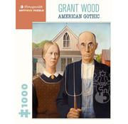 Pomegranate Pomegranate Grant Wood: American Gothic Puzzle 1000pcs