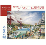 Pomegranate Pomegranate Larry A. Wilson Spirit of San Francisco Puzzle 1000pcs