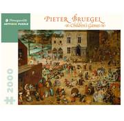 Pomegranate Pomegranate Pieter Bruegel: Children's Games Puzzle 2000pcs