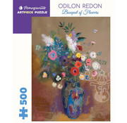 Pomegranate Pomegranate Odilon Redon: Bouquet of Flowers Puzzle 500pcs