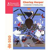 Pomegranate Pomegranate Charley Harper: Coastal Creatures Puzzle 500pcs